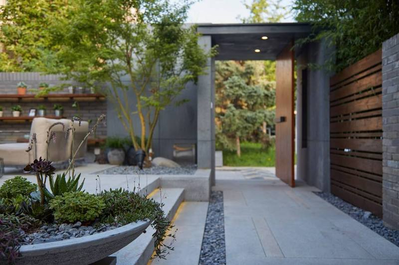 别墅庭院设计,中式庭院景观设计中北镇的别墅图片