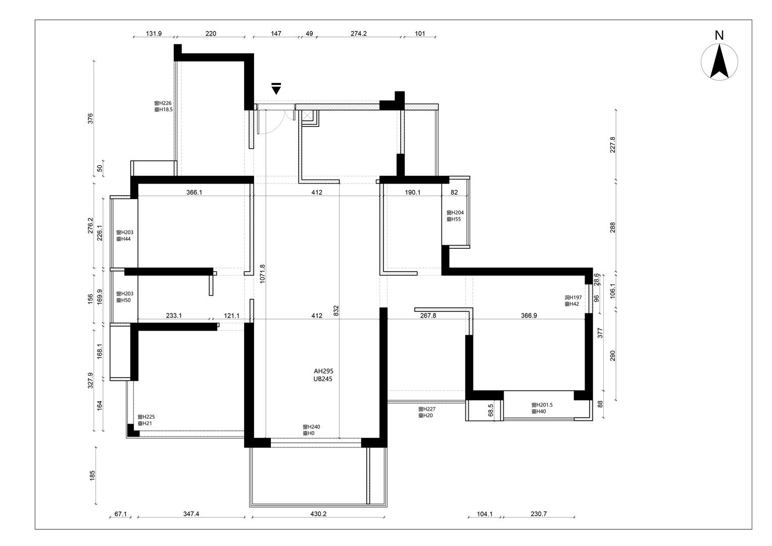 星河银湖谷-143平米装修-现代极简风格设计案例装修设计理念
