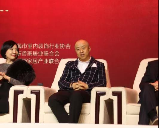 """东易日盛董事长陈辉先生,淡淡的""""佛系""""微笑"""
