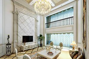 高端别墅装修设计 客厅装修什么瓷砖好
