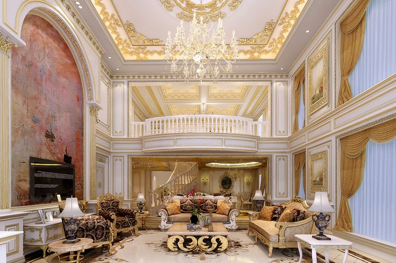 高端别墅装修设计效果图