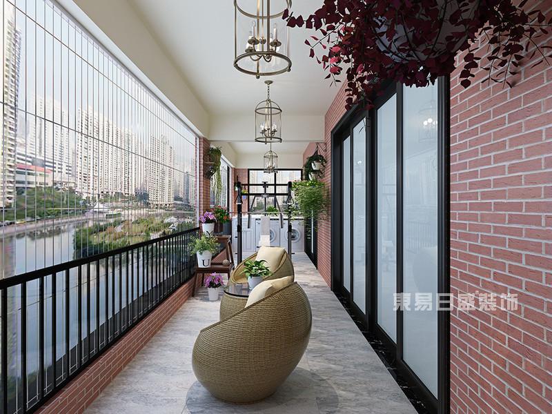 190平米阳台装修效果图-东易日盛装饰