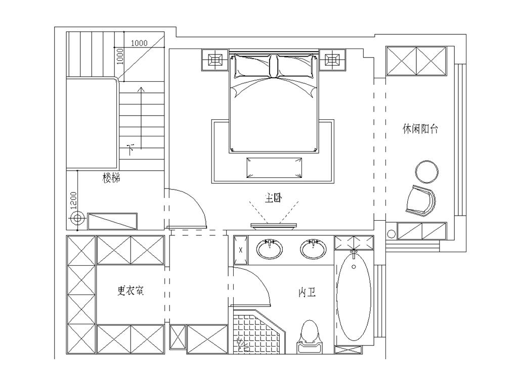 海景壹号197平北欧跃层装修设计效果图装修设计理念
