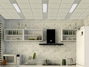厨房吊顶材料有哪些?厨房吊顶装修注意事项