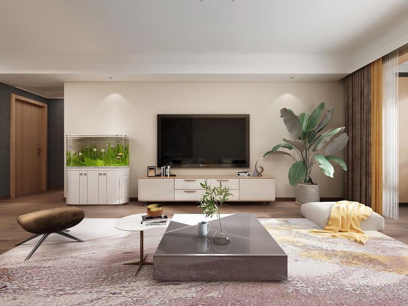 全家木地板将客餐厅两个空间无缝连系,空间感顿时倍增.jpg