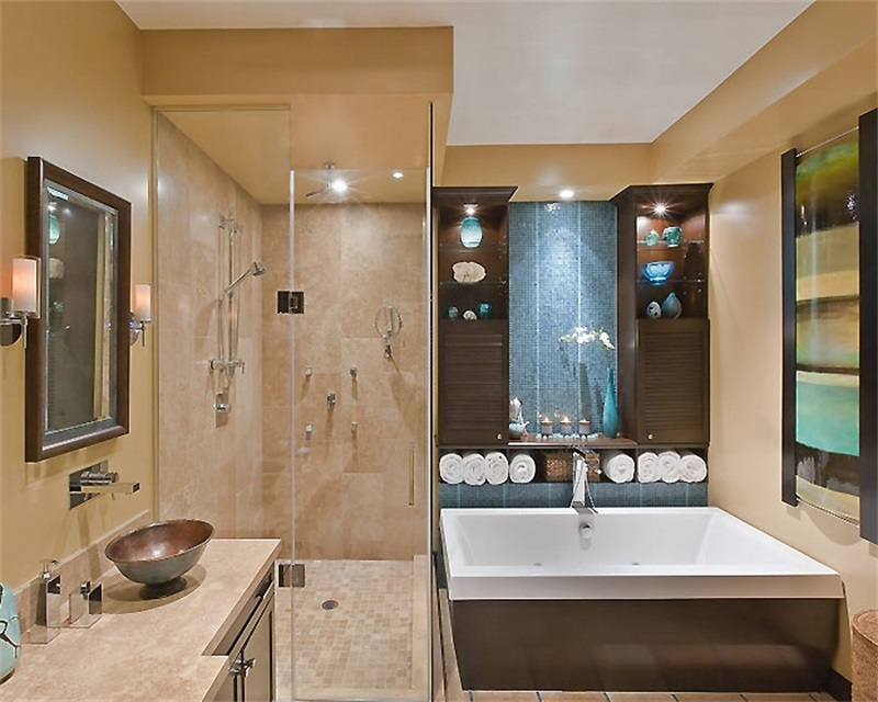 浴室瓷砖颜色搭配