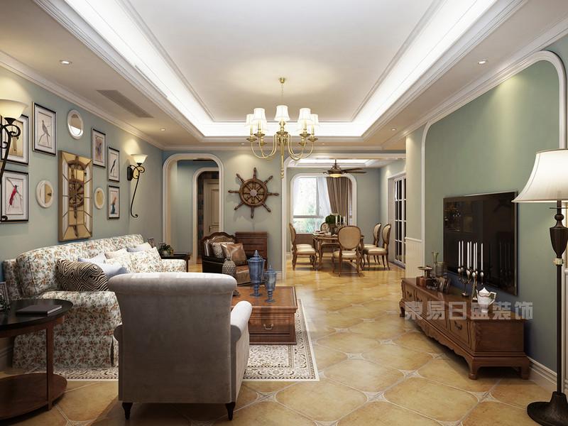 3套欧式田园风格家庭装修效果图