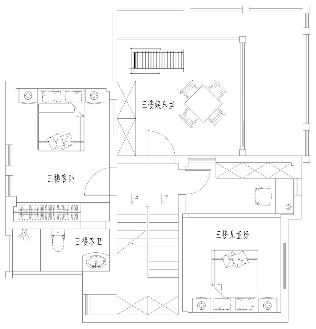 碧桂园新中式别墅装修效果图装修设计理念