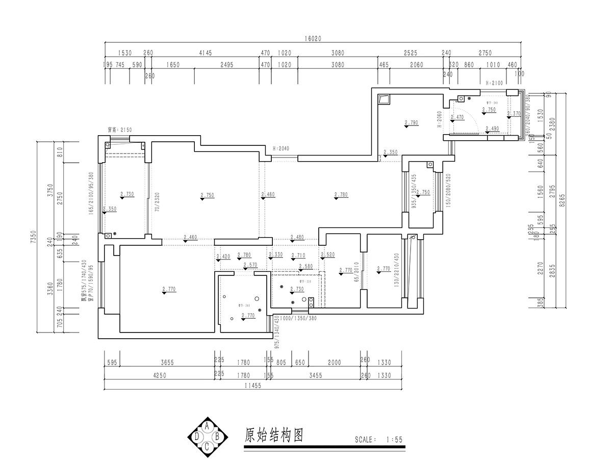 星光御墅新中式风格100平米装修设计理念