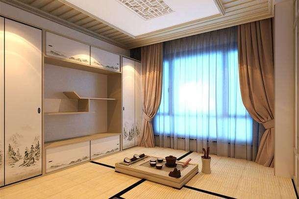 日式风格窗帘