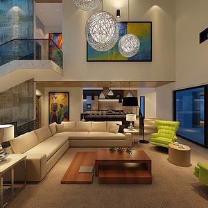 室内软装色彩搭配,东易日盛装修效果图