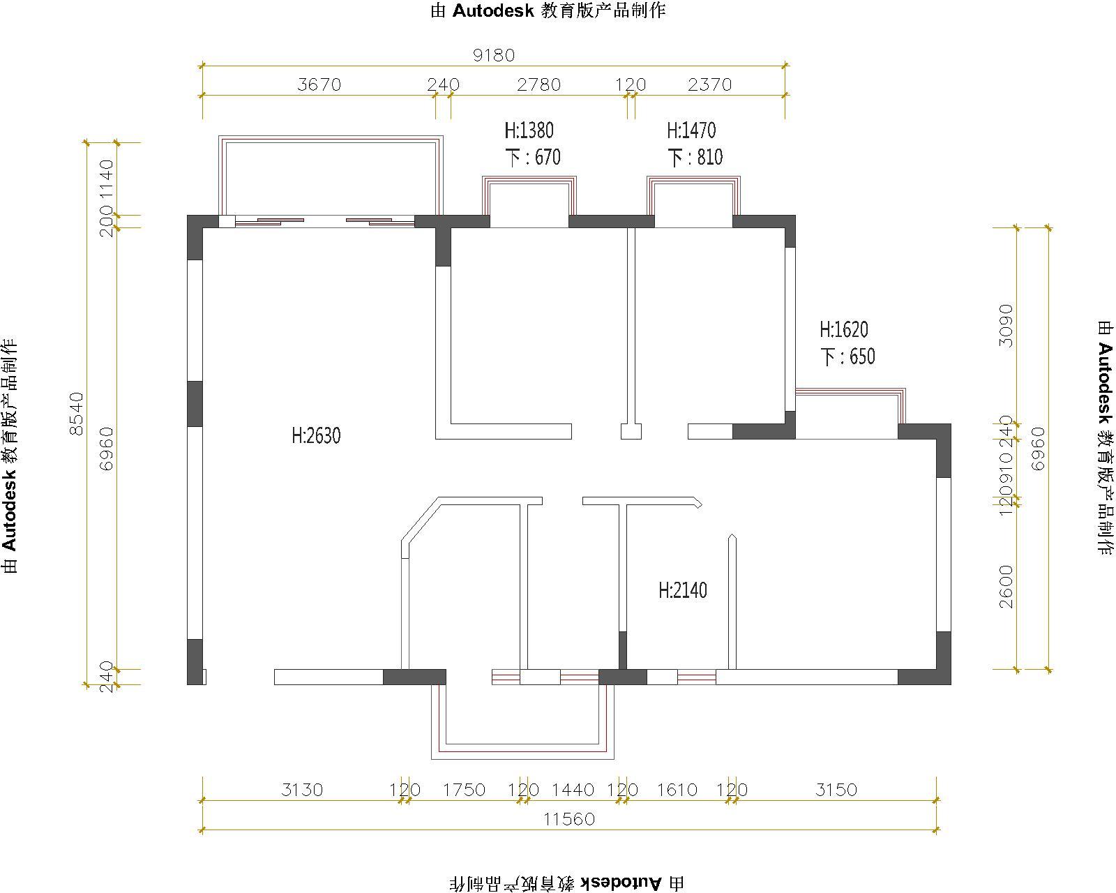 景城府-简欧风格-90平-装修效果图装修设计理念