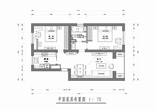 宏丰西路一号院-美式-97平米装修设计理念