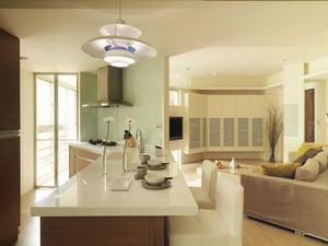 厨房装修设计吧台的设置设计