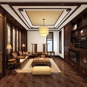 中式古典作风室内设计
