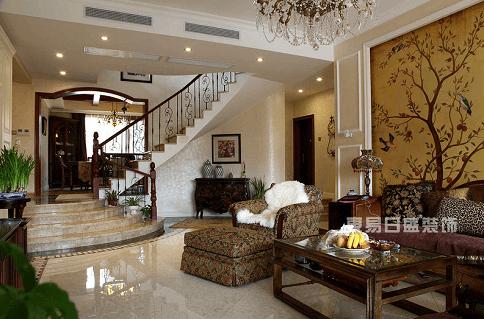 杭州别墅装修设计师客厅设计效果图