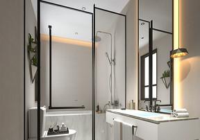 卫生间玻璃隔断好吗_长沙装修公司分享卫生间玻璃隔断优点和缺点
