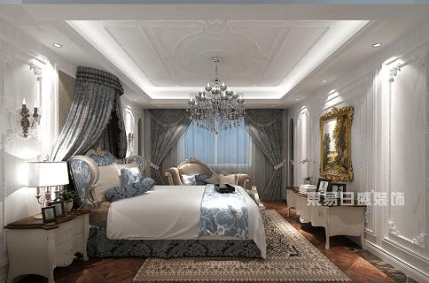 杭州别墅装修设计师卧室设计效果图