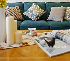 佛山客厅装饰效果图,靠着Ta的肩膀坐享家的温馨时光