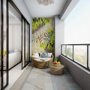 室内阳台装修内墙需不需要贴瓷砖呢?