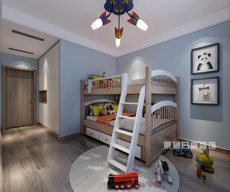 180平米三室两厅装修图片_儿童房