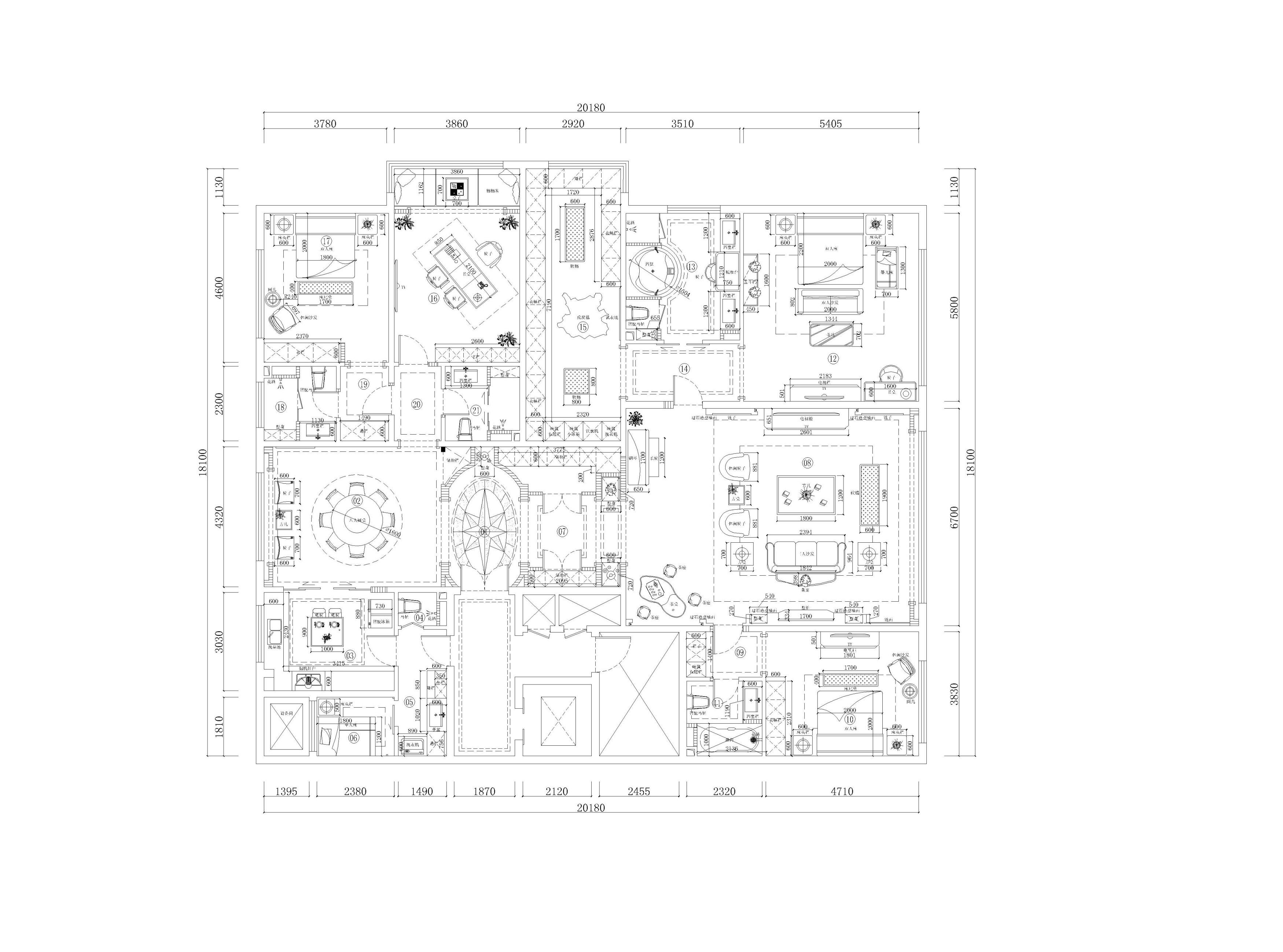 西山壹号院 简欧风格 360平米装修设计理念