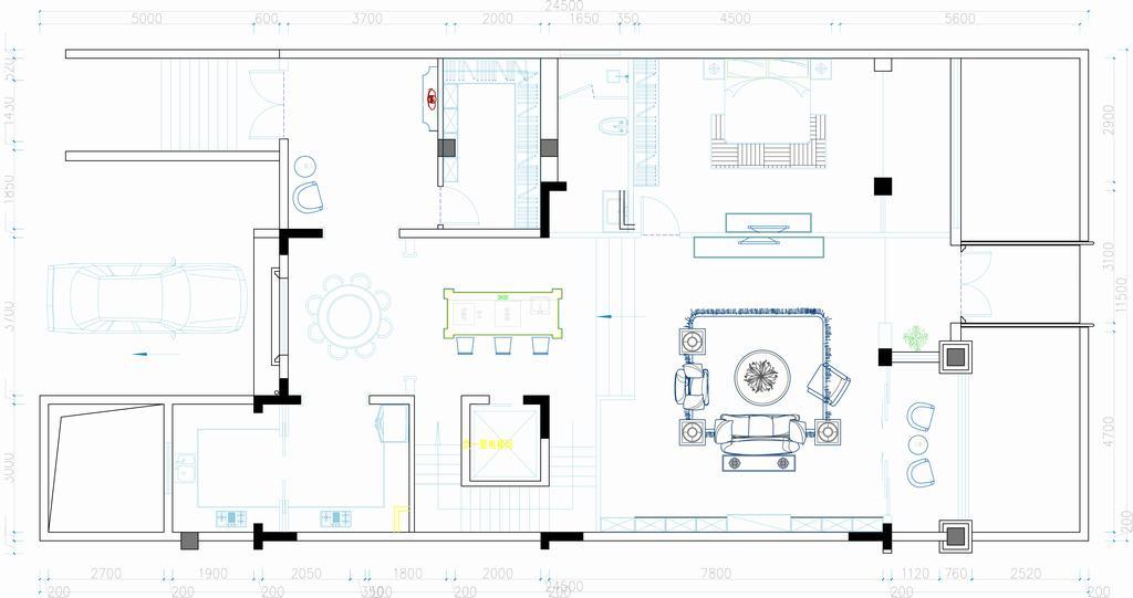 京梁合-炫奢华-264平米装修设计理念