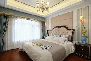 南京装修-中电颐和府邸140平现代美式