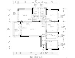 百瑞景新房-现代风格-120平米户型