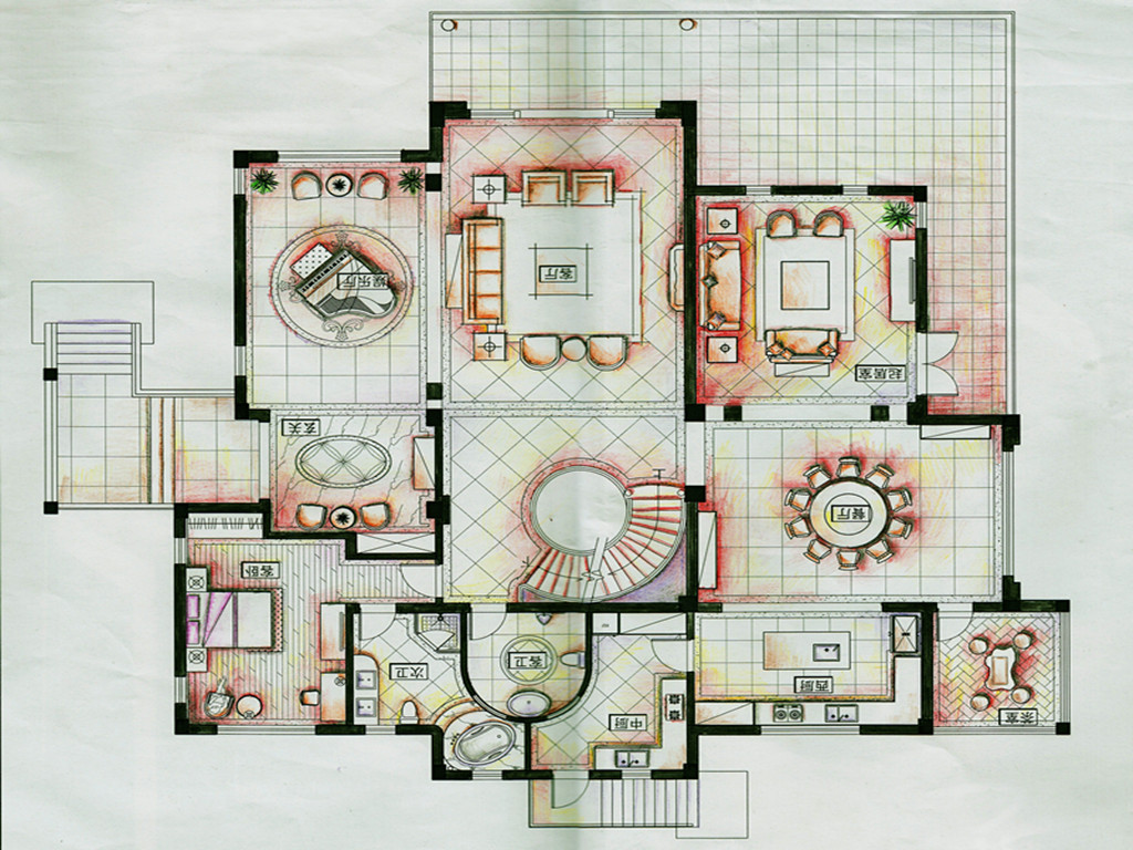 比华利800平米别墅欧式古典风装修设计理念