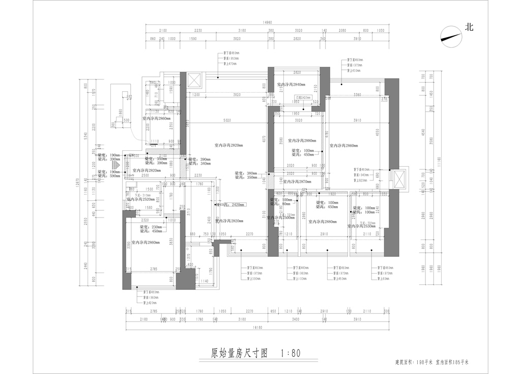 东海国际公寓185平-欧式装修设计风格--高端装修案例展示装修设计理念