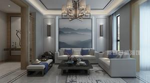 深圳180平米新中式风格设计效果图,带给你完美家居体验