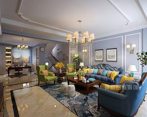 390平米欧式别墅软装搭配技巧,七招让您的家奢华而有内涵