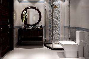 卫生间浴室柜台有哪些装饰材质?东易日盛家居设计师教你选