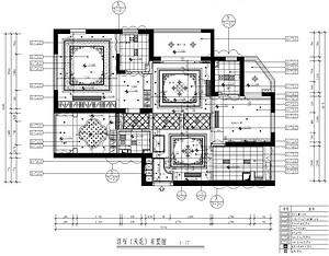 绿地国际三室两厅-雅致风格-188平米户型