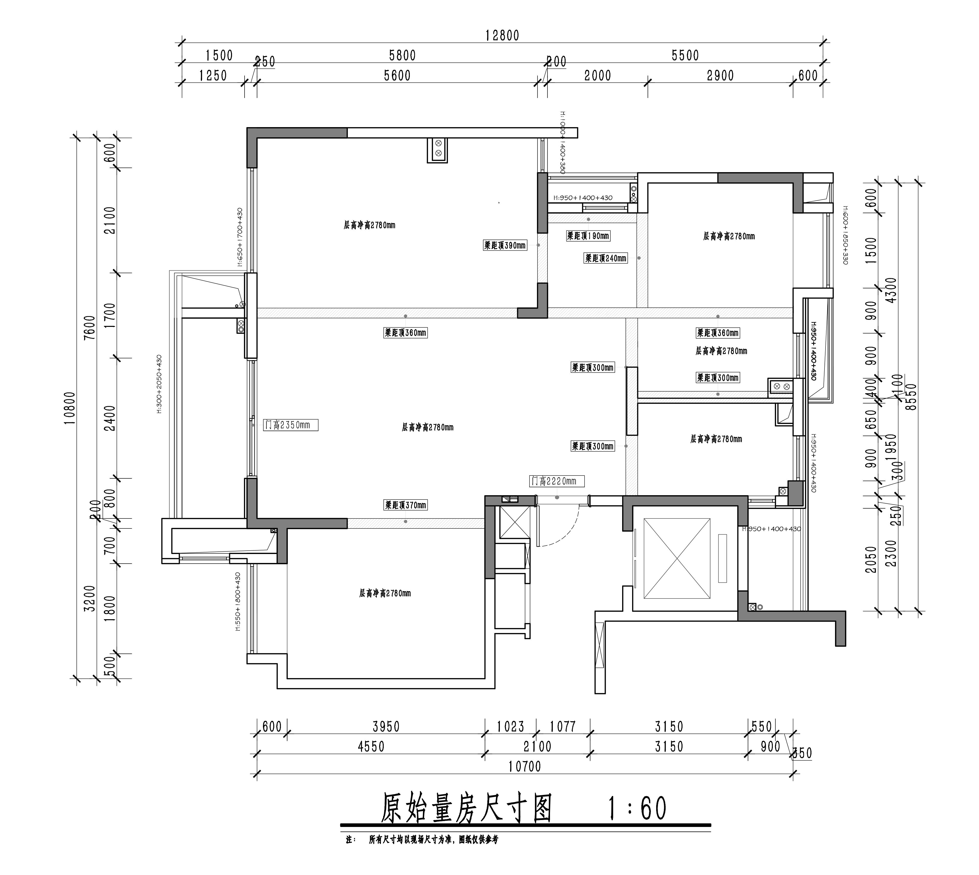 东方公馆-118平-现代轻奢装修设计理念