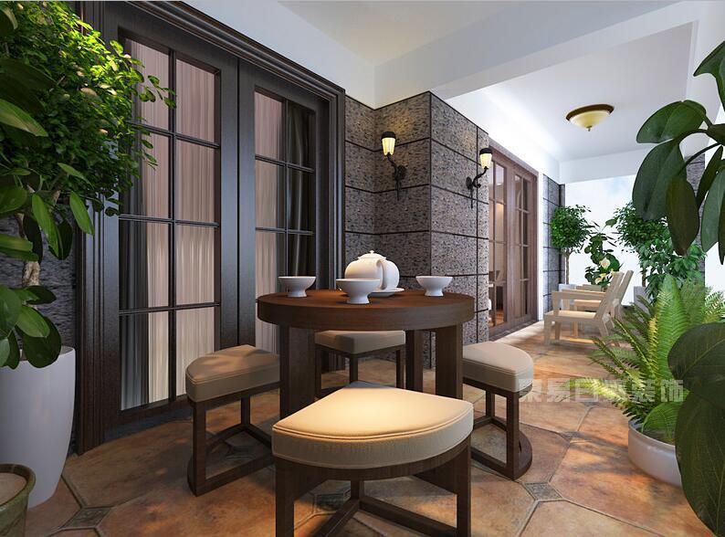 泸州装修家庭小茶室装修设计效果 茶室布置