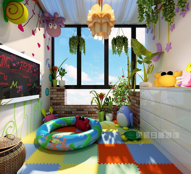 儿童休闲阳台装修效果图 休闲区