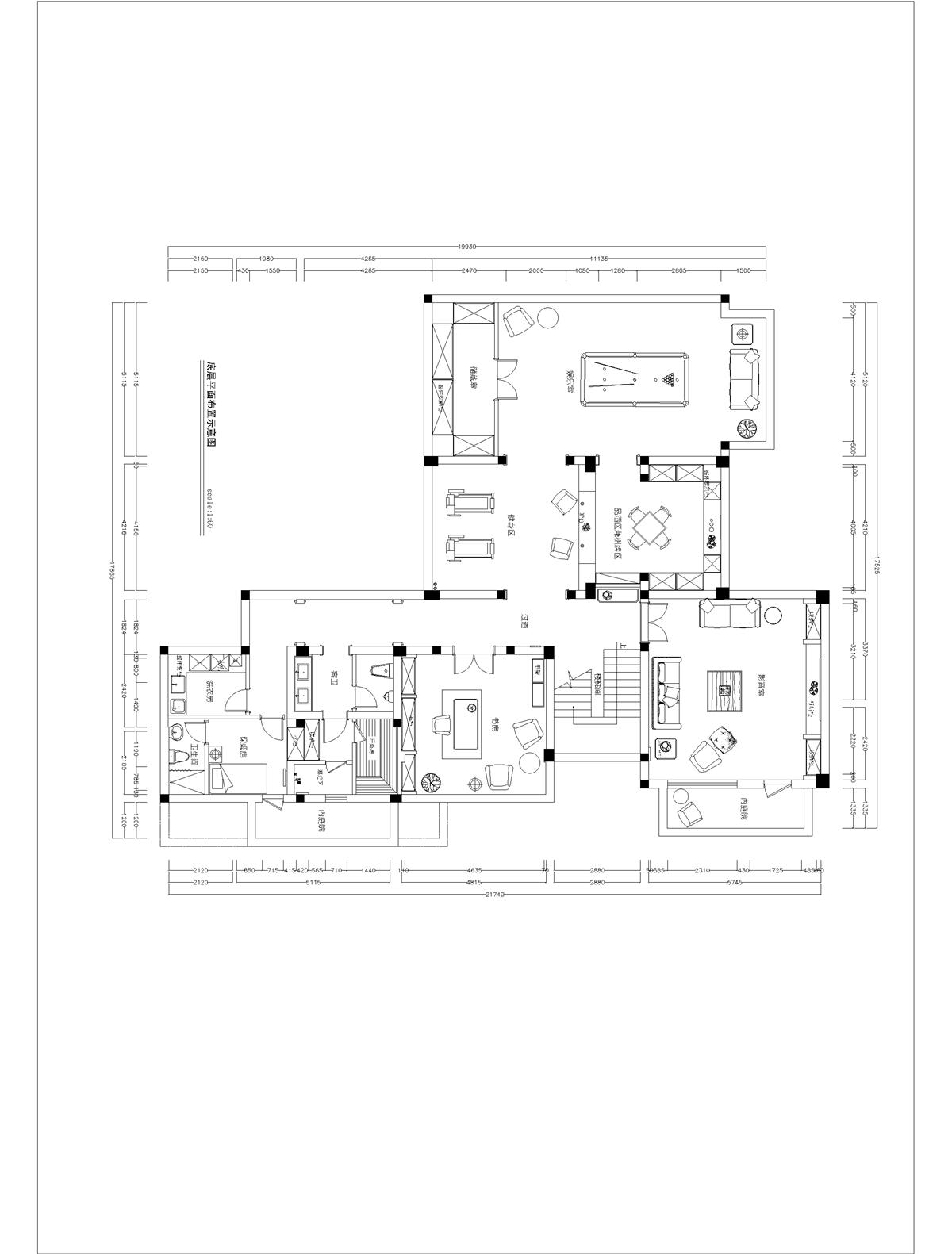 绿城玫瑰园649平新中式别墅装修装修设计理念