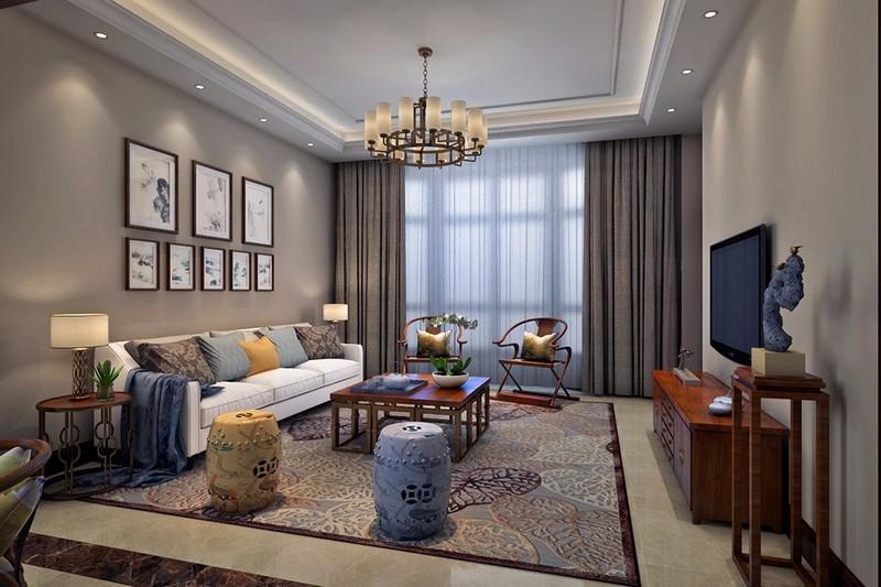 高端别墅装修设计 客厅装修攻略-北京原创艺墅盛装饰