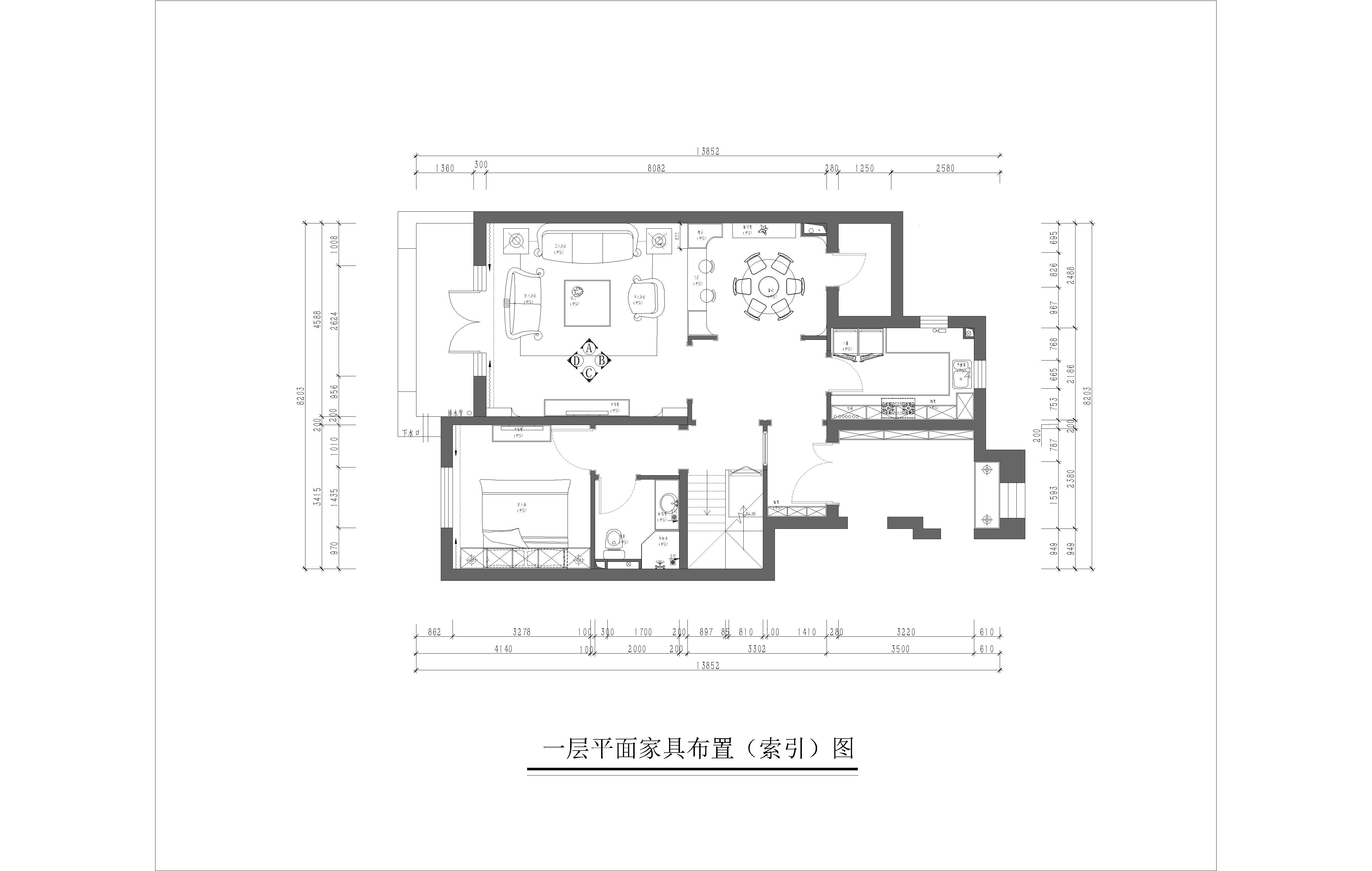 红杉溪谷-260平米-欧式古典装修设计理念
