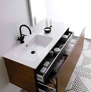 浴室收纳架效果图,浴室收纳秘籍