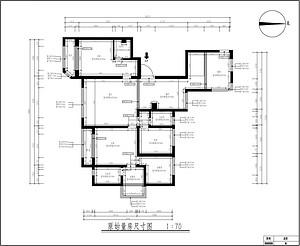 天山九峯165平四室三厅户型解析