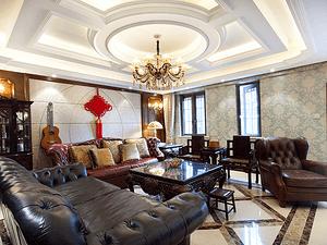 流光千年印古意,奢享300平美式别墅生活!