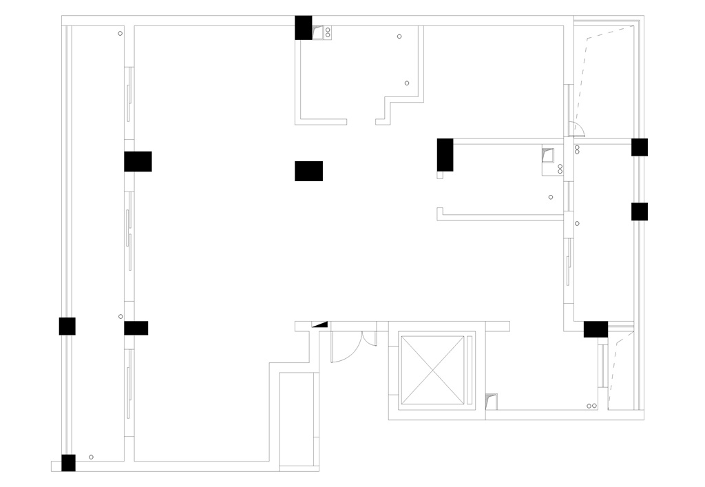 绿城海棠湾153平米小美式设计装修效果图装修设计理念