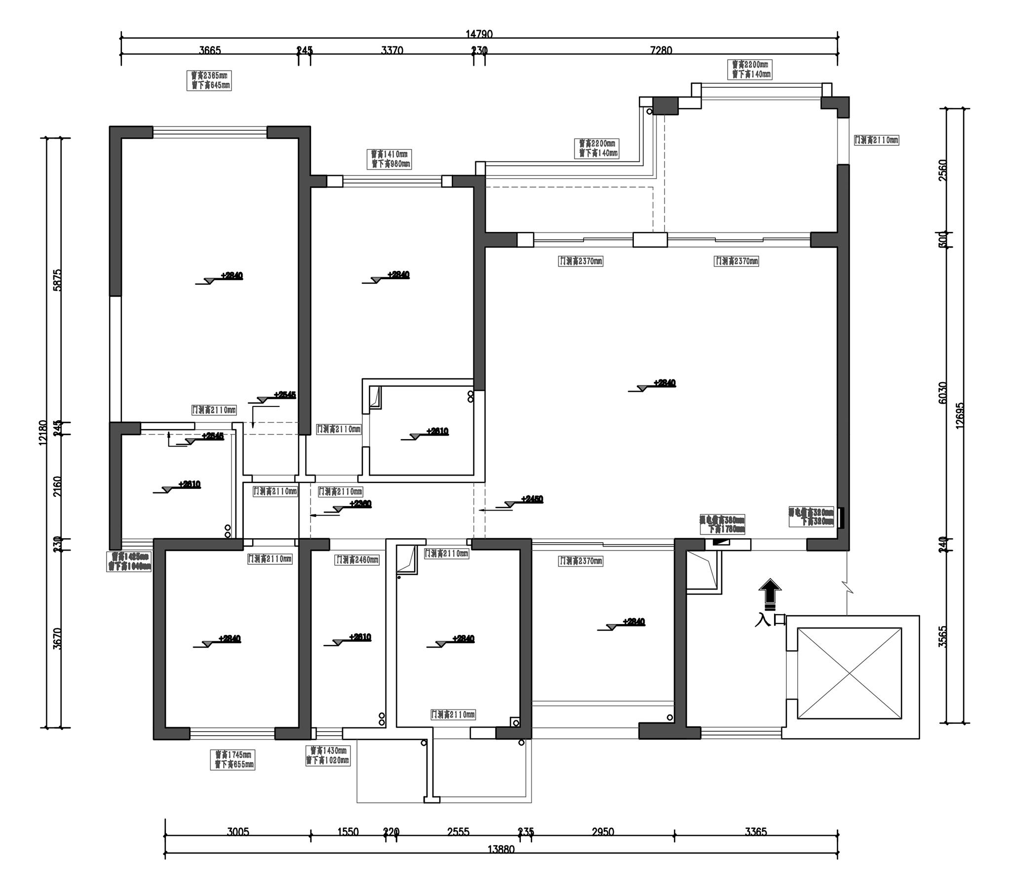 花样年禧悦现代简约193m²装修设计理念