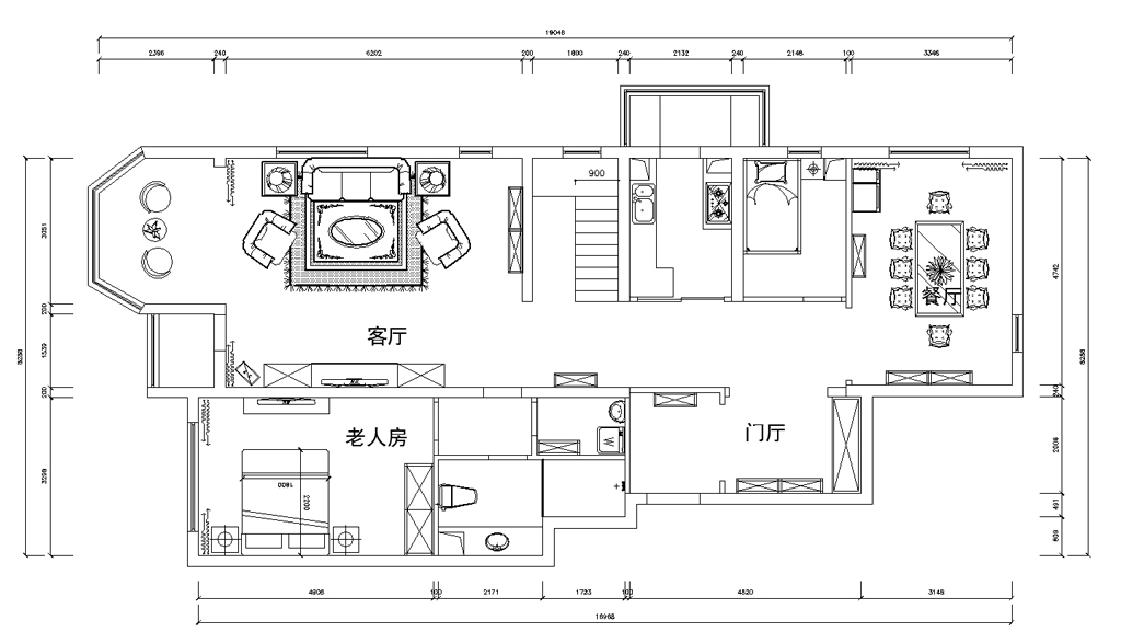 世界城-法式装修风格-340平米装修设计理念