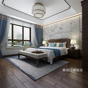 新中式风格卧室装修效果图,承包你所有的浪漫情怀