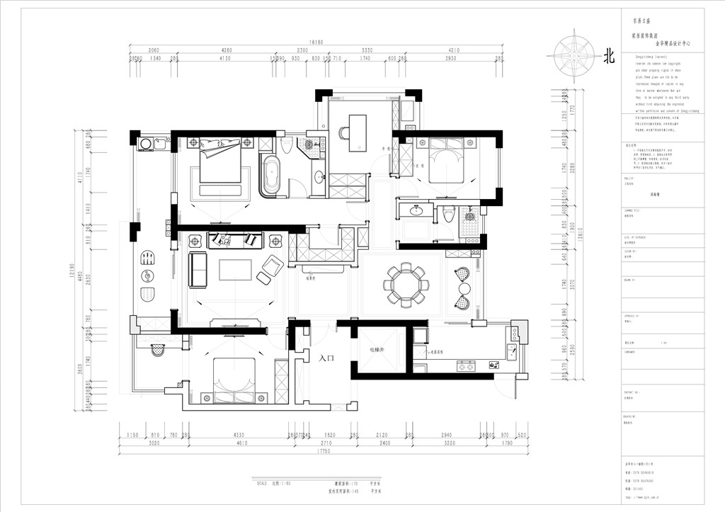 保集•湖海塘庄园170m²-美式轻奢装修设计理念