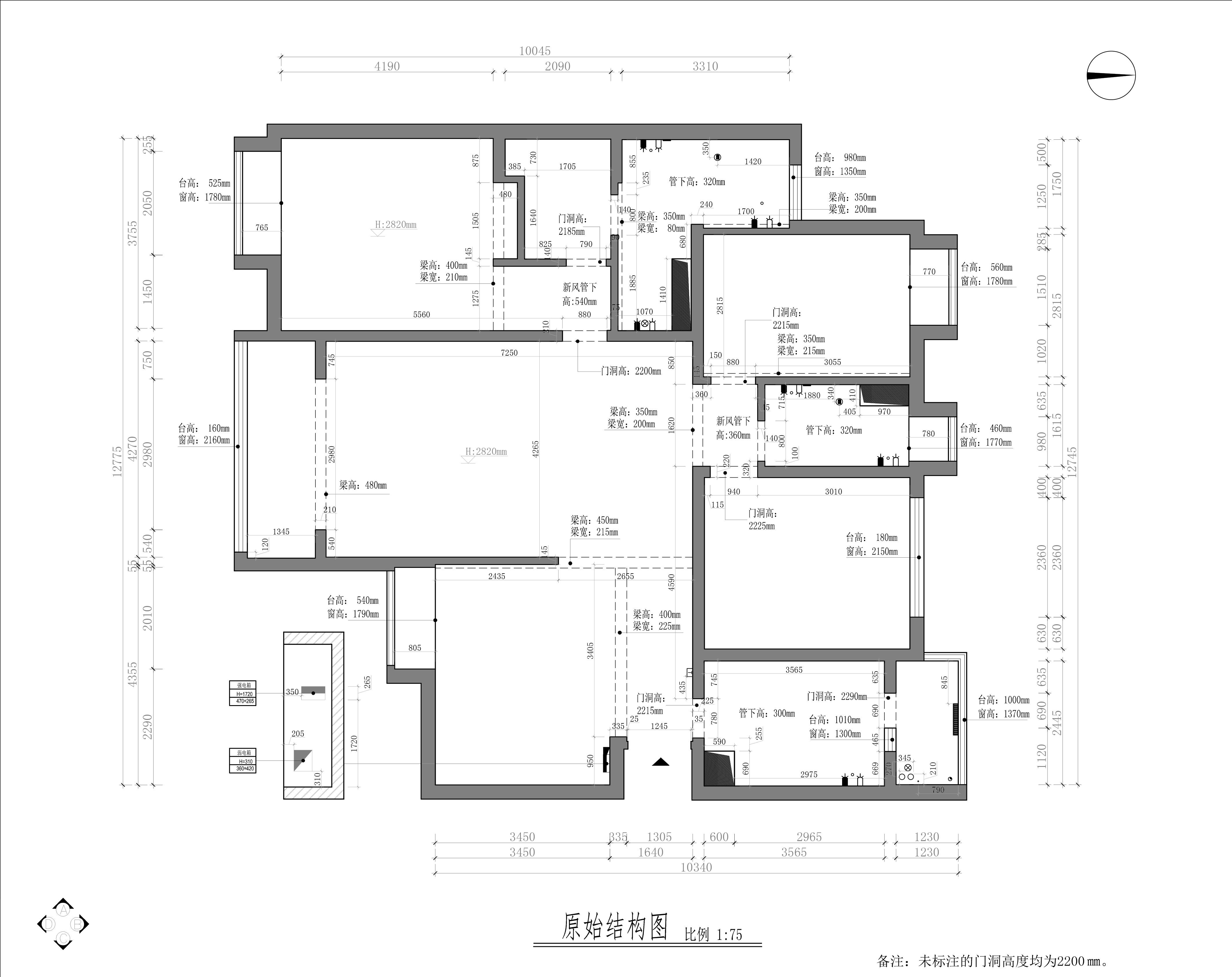 昌盛双喜城新中式180平米装修效果图装修设计理念